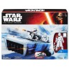 Star Wars The Force Awakens Snowspeeder and First Order Snowtrooper Officer